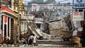 Haiti post-earthquake